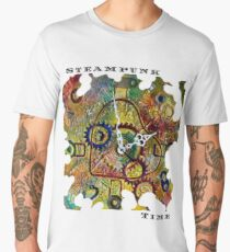 STEAMPUNK LOVE - STEAMPUNK TIME  Men's Premium T-Shirt
