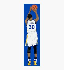 3 point Curry Photographic Print