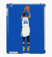3 point Curry iPad Case/Skin