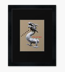BEAST DRAGON SLAYER Framed Print