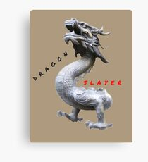 BEAST DRAGON SLAYER Canvas Print