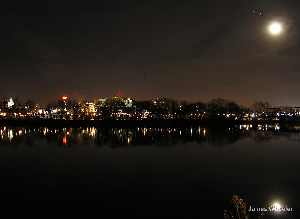 Harrisburg After Dark by James Wheeler