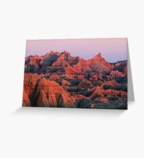 Badlands Dreaming Greeting Card