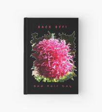 BAD HAIR DAY, PINK DAHLIA FLOWER Hardcover Journal
