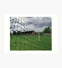 Arden street,North Melbourne, Football Ground Art Print