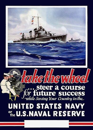 Take The Wheel -- United States Navy by warishellstore