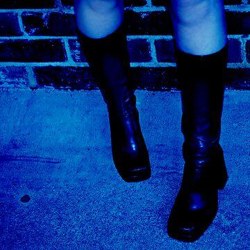 Blue Boots by TabulaRasa