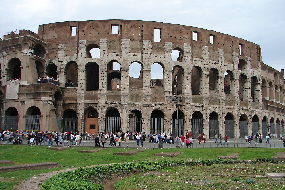 The Collosseum Rome Italy by shadyuk
