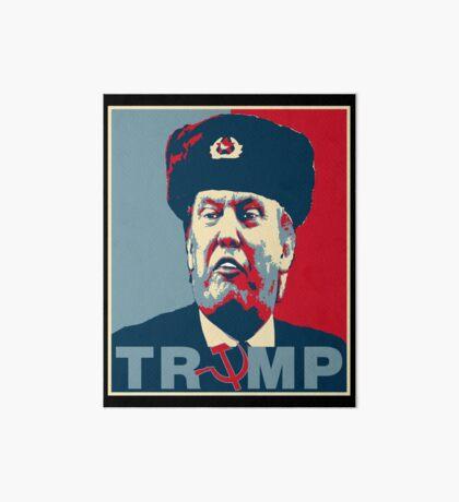 Trump Russia Poster Art Board