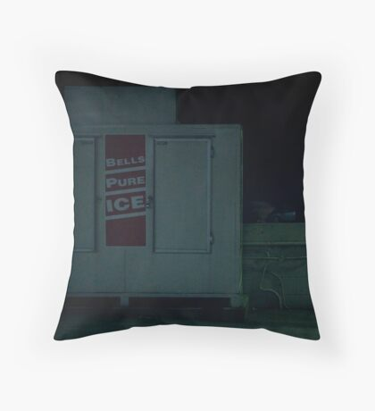 Urban Signs - Bells Pure Ice Throw Pillow
