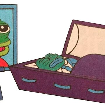 Pepe Frog - Death of a Meme by Puppy-