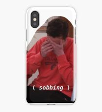 chandler crying iPhone Case/Skin