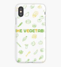 I LIKE VEGETABLES iPhone Case/Skin