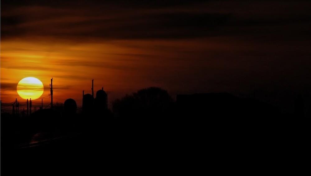 An Amish Sunset by WALLPhotoGrafx