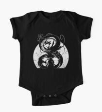 Silhouette of the Dragon One Piece - Short Sleeve