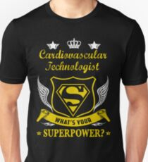 CARDIOVASCULAR TECHNOLOGIST SOLVE PROBLEMS DESIGN Unisex T-Shirt