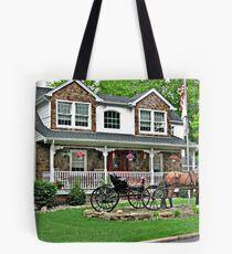 Unusual Lawn Ornament Tote Bag