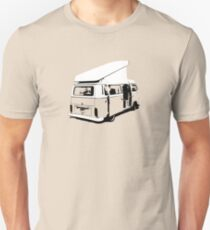 VW Camper Early Bay Open Roof T-Shirt