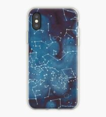 Astronomers Constellation Star Map iPhone-Hülle & Cover