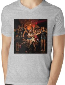 She Be Reppin Taylor Gang  Mens V-Neck T-Shirt
