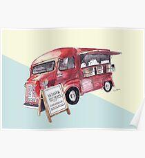Cafe Truck - Edinburgh, Scotland Poster