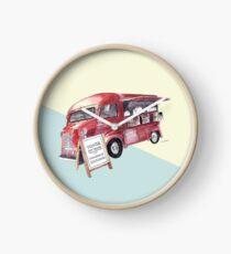 Cafe Truck - Edinburgh, Scotland Clock