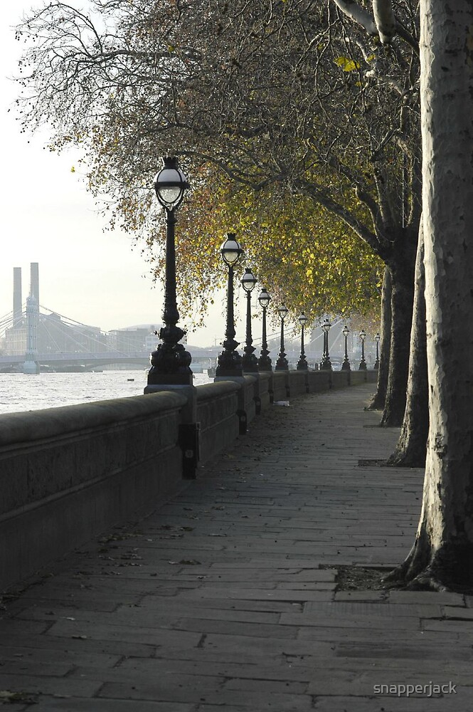Chelsea Embankment by snapperjack