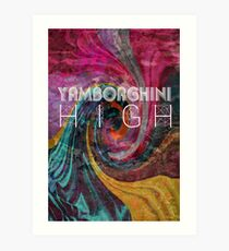 yamborghini high Art Print