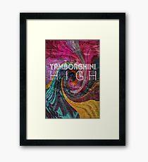 yamborghini high Framed Print