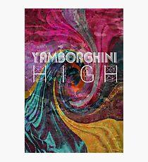 Yamborghini hoch Fotodruck