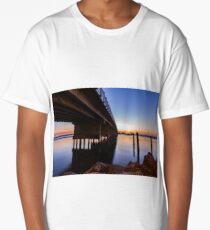 Forster Bridge at Sunset Long T-Shirt