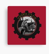 Vespa Club Canvas Print