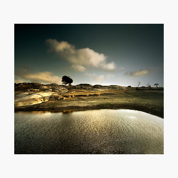 Ripples of a Scene Photographic Print