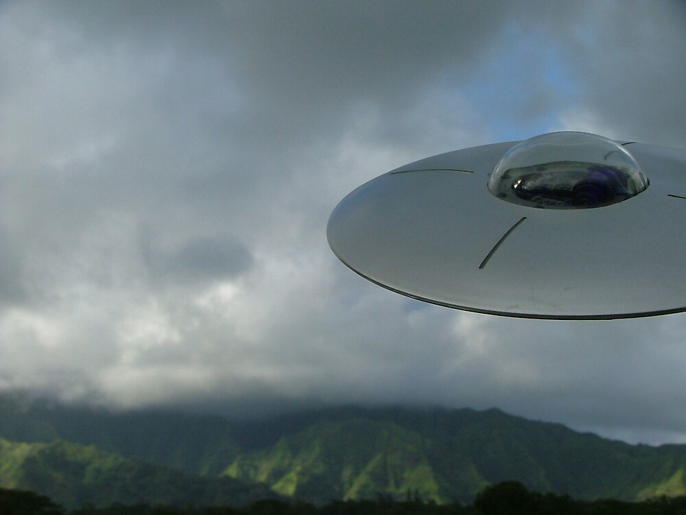 ufo by Barbara Morrison