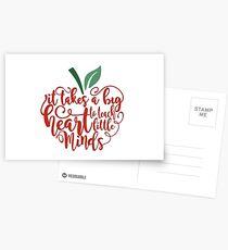 Teach Minds Postcards