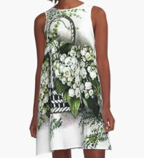 Lily of the Valley A-Line Dress