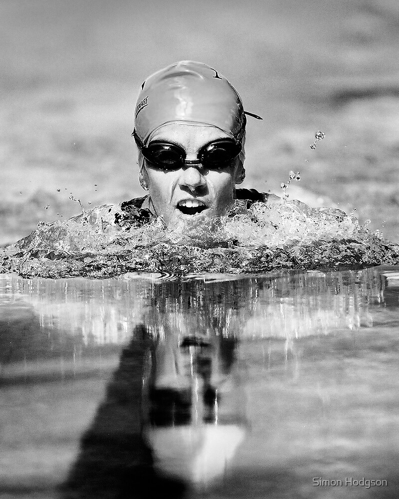 The Face of Swimming by Simon Hodgson