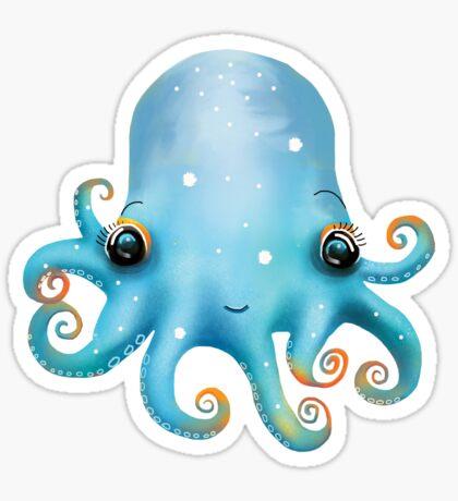 Rainbow Octopus Sticker