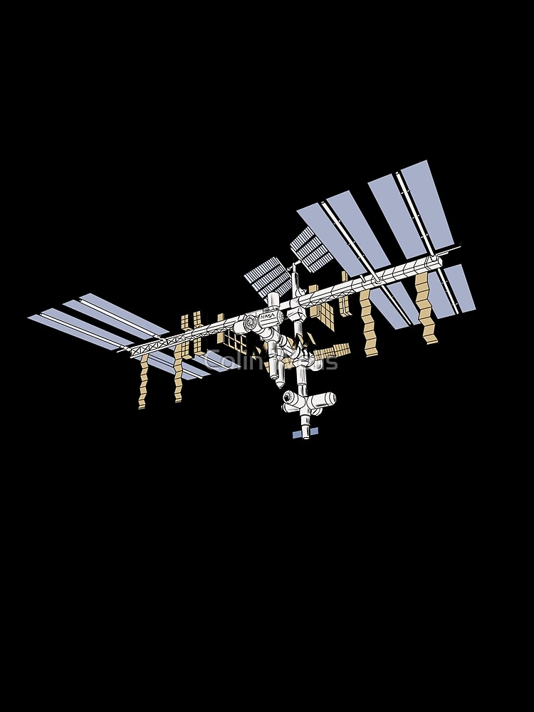 International Space Station by mrdenmac