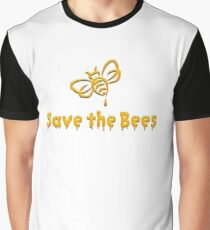 Save The Bees, Trees and Earth T-shirts  Graphic T-Shirt