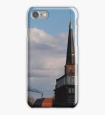 Smoke in Warschauer Strasse iPhone Case/Skin