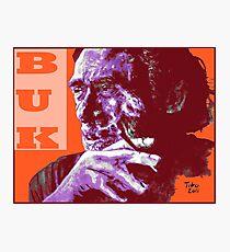Charles Bukowski - PopART Photographic Print