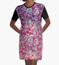 """Bouquety"" Graphic T-Shirt Dress"