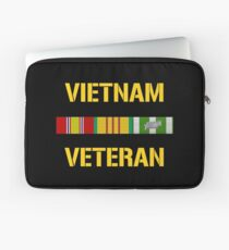 Vietnam Veteran Ribbon Bar Laptop Sleeve