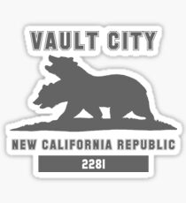 Fallout NCR (Vault City) Sticker