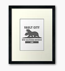 Fallout NCR (Vault City) Framed Print