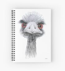 Ostrich Spiral Notebook