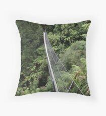 Swing Bridge Throw Pillow