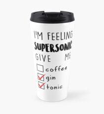 Taza de viaje Oasis Supersonic mug design!