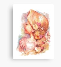 Tangled Watercolor Canvas Print